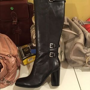 Black Leather Riding Boots size 9